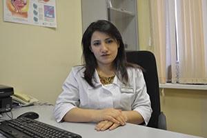 Здоровье: Шарифова Таранэ Абдулманафовна